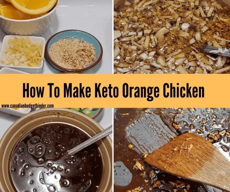 sugar-free orange sauce
