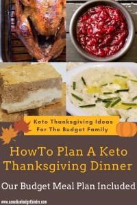 Keto Thanksgiving Meal Plan