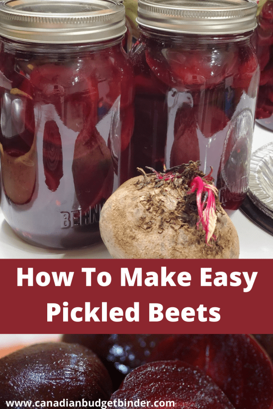 low sugar pickled beets