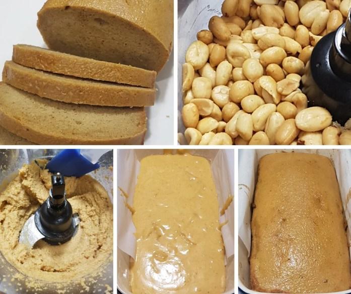 paleo peanut butter bread