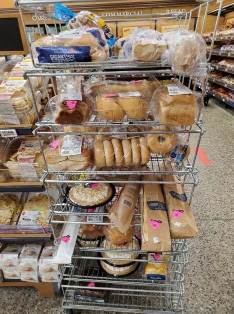reduced bread