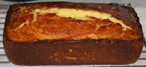 Glazed Orange Ricotta Pound Cake
