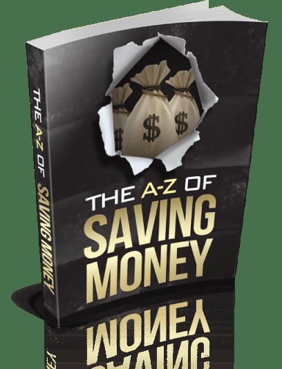 A-Z Saving money e-book