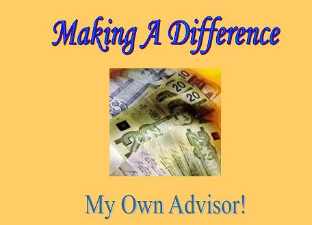 Making A Difference My Own Advisor