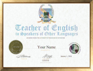 Tesol Certificate Canadian College Of Educators