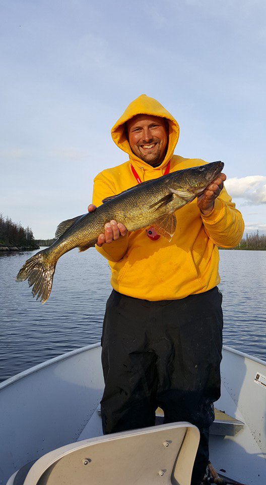 Trophy walleye, Canadian Fly In Fishing