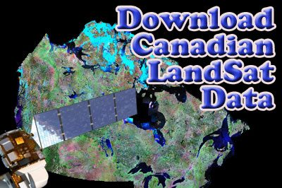 Download Canadian LandSat Images