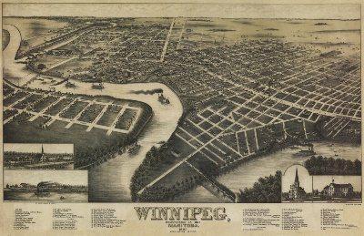 Historical Maps of Manitoba
