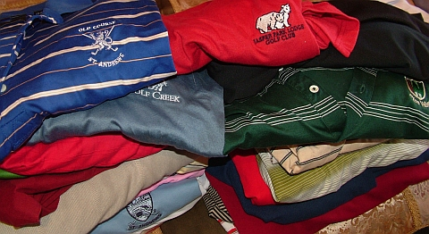 Time of the season: You know it is nearly done when the short-sleeve golf shirts get boxed and put away...