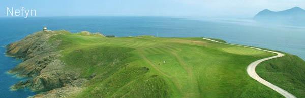 Nefyn & District Golf Club, Lon Golff, Morfa Nefyn, Pwllheli, Gwynedd