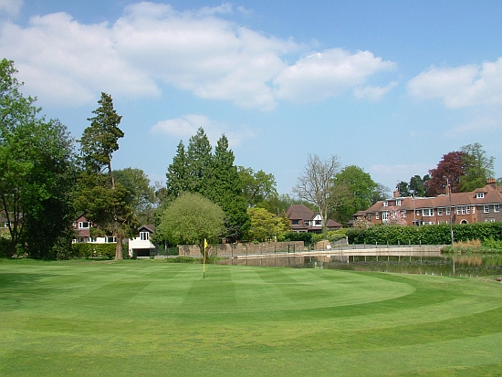 Back to town: Woking's closing hole