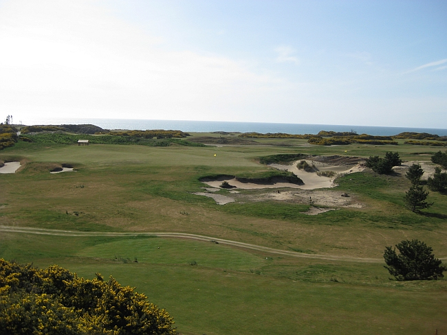 Old Macdonald's Short Hole -- the entire course opens for play in 2010