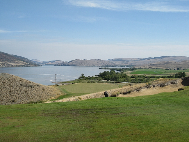 Beauty and the beast -- Sagebrush's 7th hole