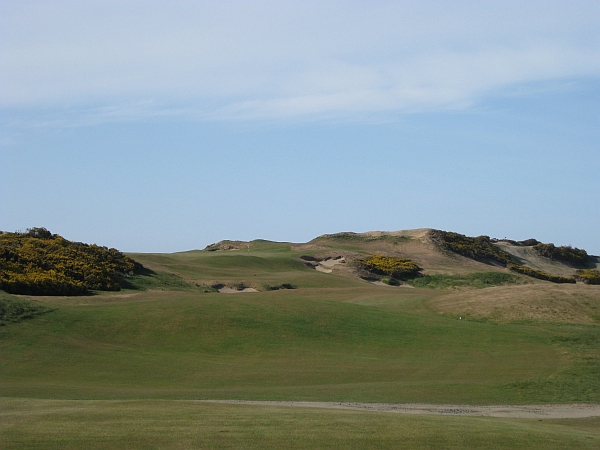 An original hole at Old Macdonald, not modeled after any of CB Macdonald's work.