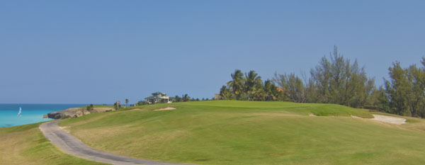 Oceanside par-3 8th hole at Varadero Golf Club