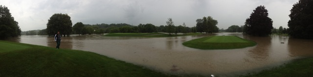 Lambton's 6th hole -- remember people died near the course during Hurricane Hazel.