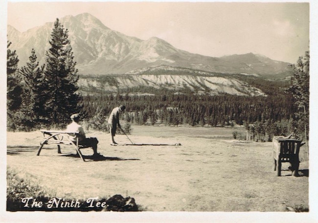The 9th at Jasper on opening day.
