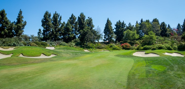 5th green at Aviara Golf Club