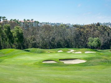 7th green Aviara Golf Club