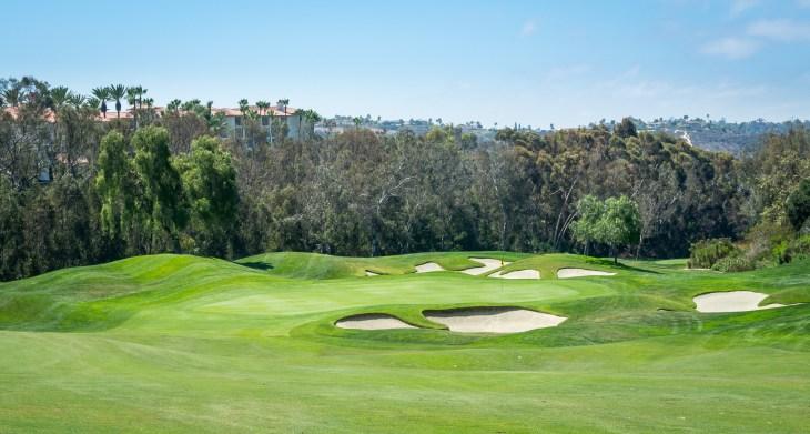 7th green Aviara Golf Club