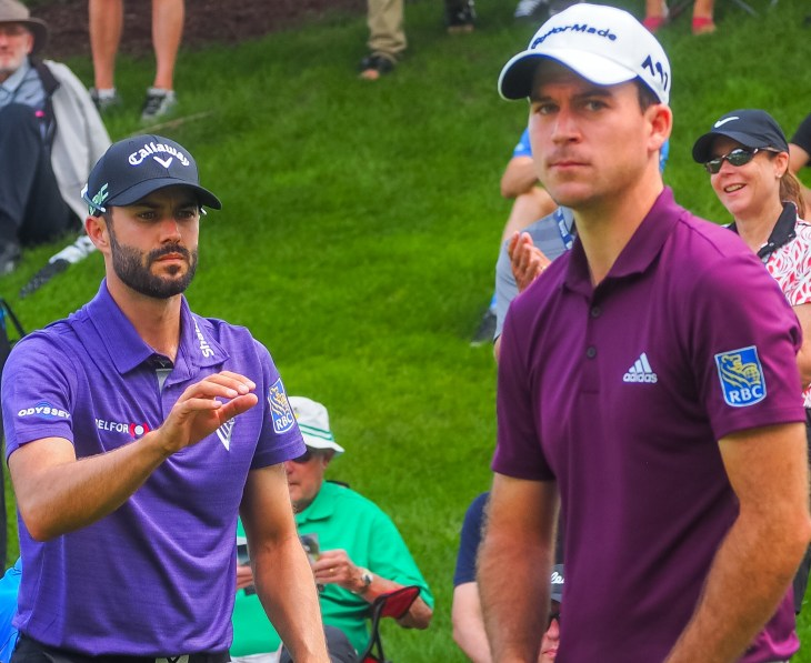 Adam Hadwin and Nick Taylor