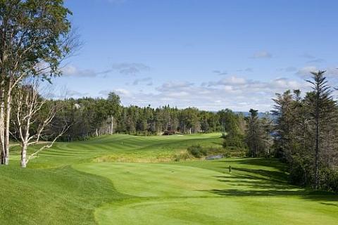 The 15th Hole at Humber Valley Resort near Deer Lake, Newfoundland
