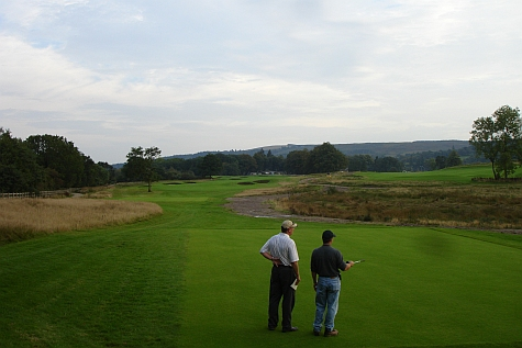 On the Carrick: Talking with Doug Carrick at The Carrick in Loch Lomond, Scotland, in 2006