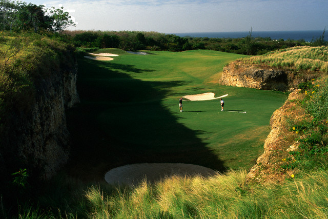 Royal Westmoreland: With holes set in a quarry and green monkeys running throughout the property, Robert Trent Jones II's Royal Westmoreland is a treat.
