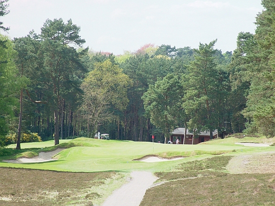 New Course: The 10th used to feature wild bunkers, many of which have been cleaned up by Martin Hawtree.