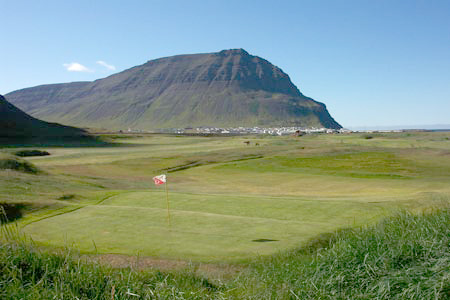 Golf Vollur - Iceland
