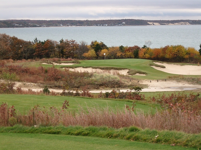 The 12th hole at Sebonack, a course I played on last year's Long Island trip.