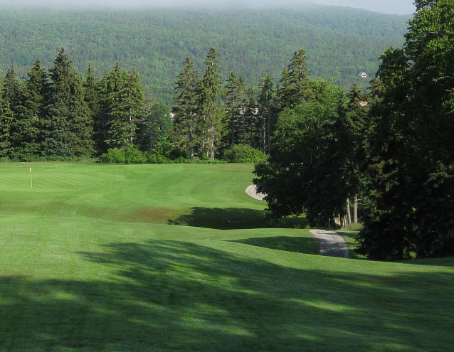 Highlands Links terrific second hole, as taken in July.