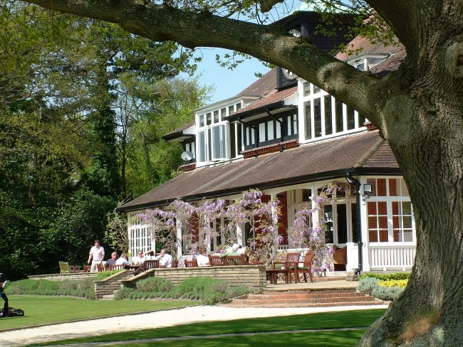 The remarkable clubhouse at Sunningdale