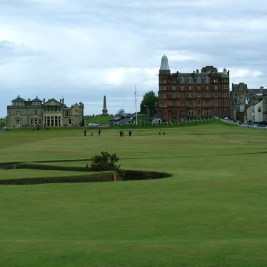 St Andrews Old Course - 18th hole