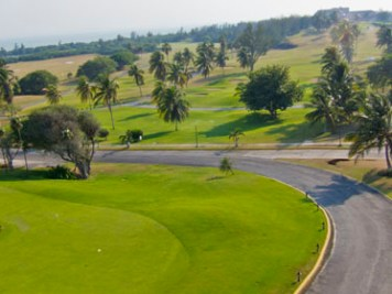 Varadero Golf Club overhead