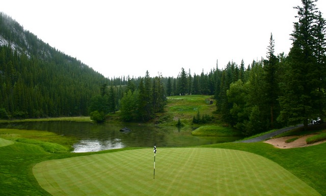Thompson's best? The fourth at Banff still captures the imagination of all who play it.