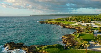 image of the 13th hole at Punta Espada