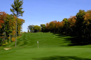 Crimson Ridge Golf Course in autumn