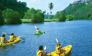 Kayaking on the Chavon River, Casa de Campo, Dominican Republic (Image: Casa de Campo)