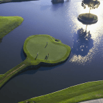 The famous 17th hole at TPC Stadium Course (Image: Sawgrass Golf Resort and Spa)
