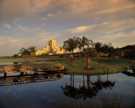 Hawks Landing Golf Club at Orlando World Center Marriott  Resort (Image: Orlando World Center Marriott)