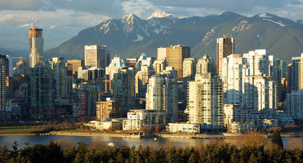 Vancouver skyline (Image: Vancouver Tourism)
