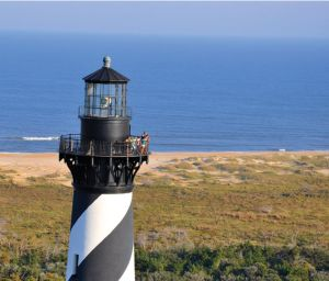 Cape Hatteras Lighthouse (Image: Outer Banks Visitors Bureau)
