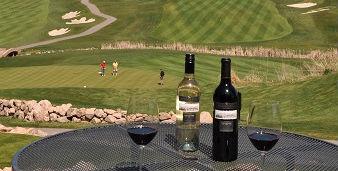 Predator Ridge and local wine (Image: Predator Ridge Resort)