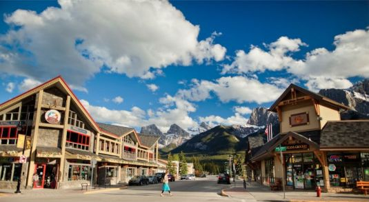 Downtown Canmore Alberta (Image: tourismcanmore.com)