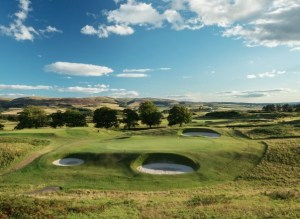 Gleneagles Kings Course No. 8 (Image: Gleneagles Hotel)