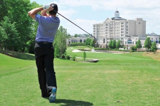 Ballantyne Golf Course Charlotte North Carolina (Image: Ballantyne Hotel)