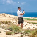 Greg Norman playing KN Golf Links Cam Ranh, his third course in Vietnam. (Image: KN Golf Links Cam Ranh)