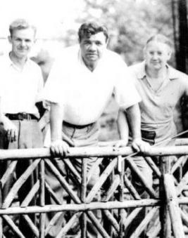 Babe Ruth at Digby Pines GC (Image: Digby Pines GC)