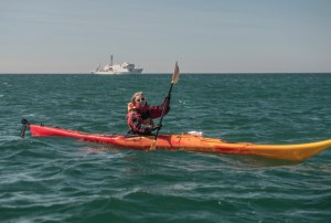 Ocean kayaking at Iles de la Madeleine (Image: One Ocean Expeditions)